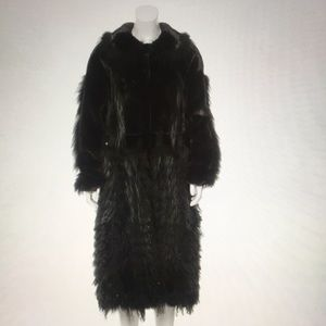 Oscar de la Renta Mink Coat
